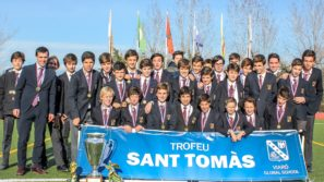 Saint Thomas Trophy ceremony