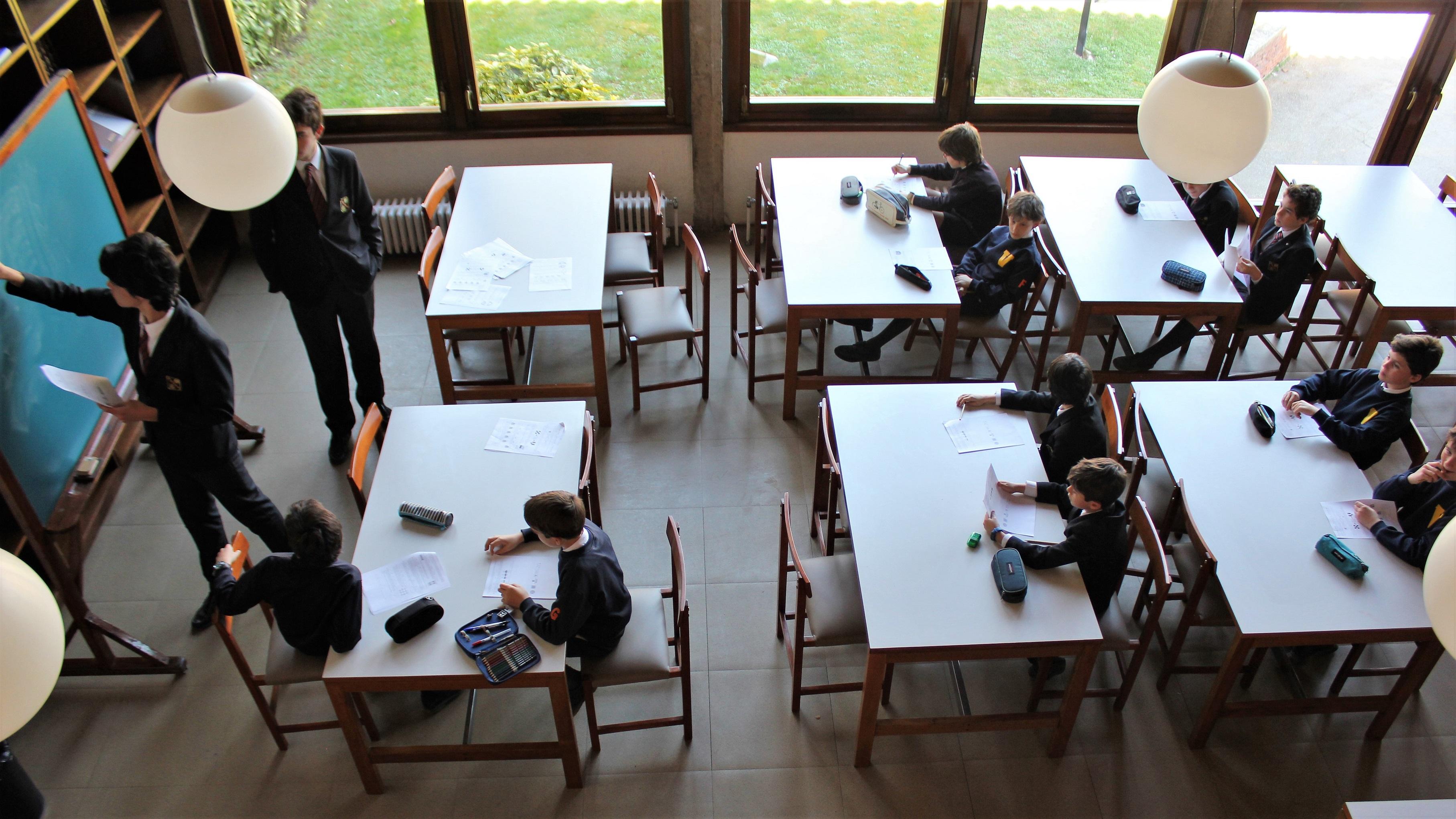 Alumnos de Bachillerato, mentores en Primaria